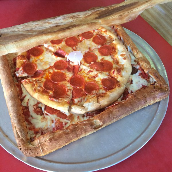 A Restaurant Invented a Pizza Box Made Out of Pizza